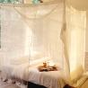 Moustiquaire rectangulaire pour lit de 90