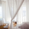 Moustiquaire rectangulaire lit 180