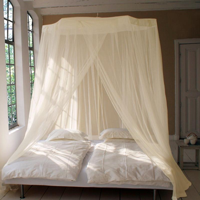 moustiquaires de lit circulaires fonctionnelles et attrayantes