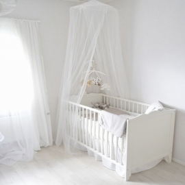 Bed sky mosquito net
