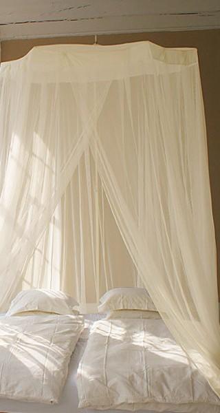 moustiquaire de lit circulaire pour grand lit
